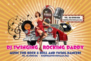 Dj Rock and roll dansen boogie woogie jive swing amsterdam purmerend hoorn west beemster danslessen noord holland