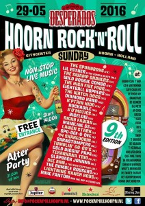 party agenda rock and roll Sunday Hoorn
