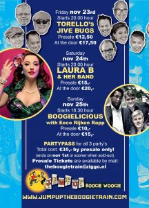 boogie woogie boogie train Laura B Torello's Boogielicious